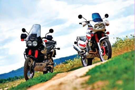 Honda XRV750 Africa Twin Yamaha XTZ750 Super Tenere