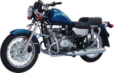 Мотоцикл соло